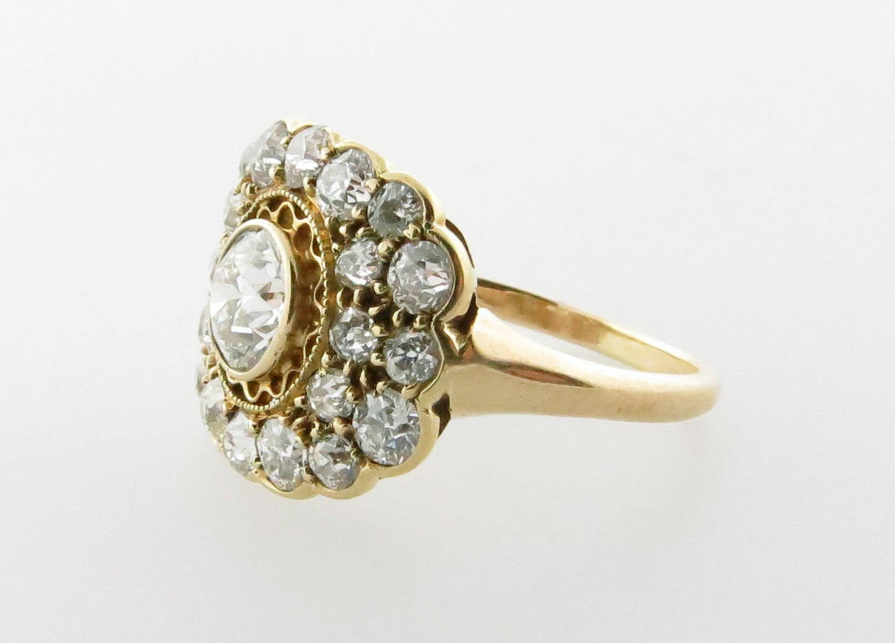 exquisite antique edwardian gold ring at 1stdibs
