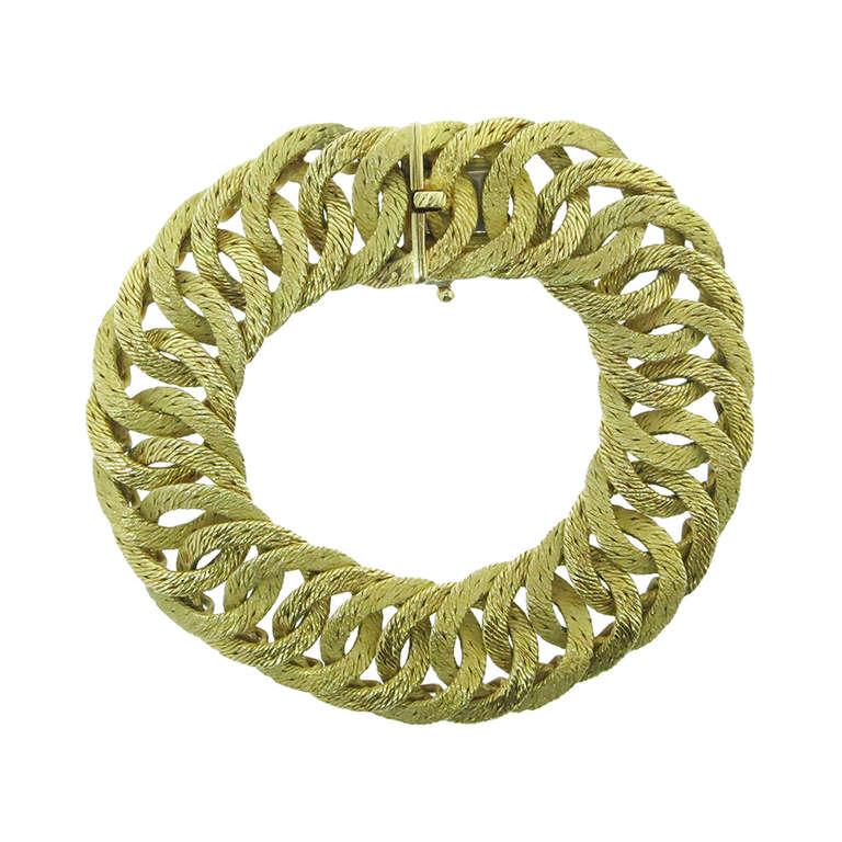HERMES Woven Link Bracelet