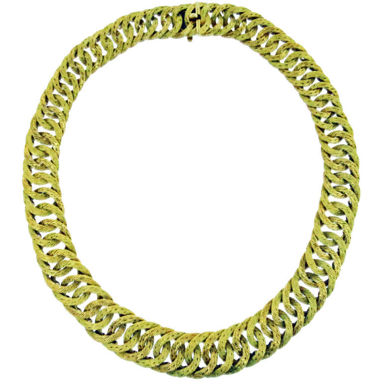 Hermes Woven Link Necklace