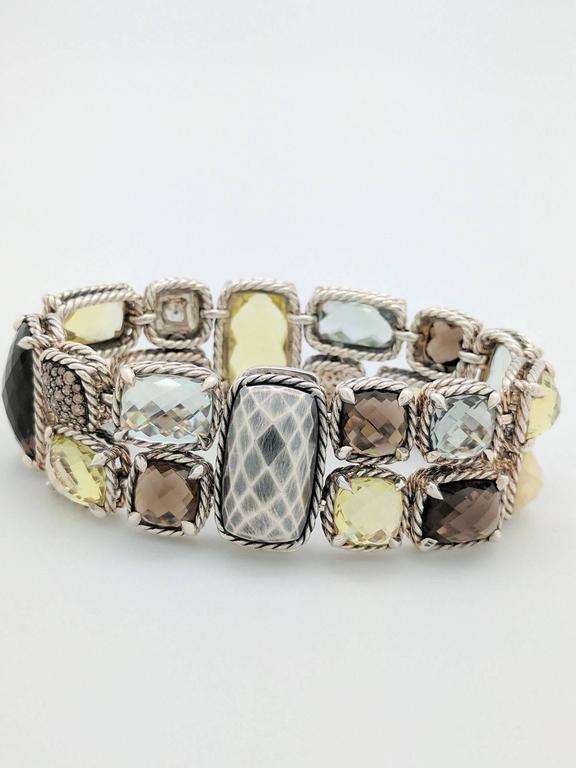 David Yurman Chatelaine Metallic Mosaic Sterling Silver