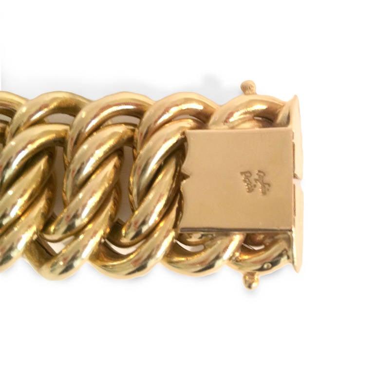 French Gold Braided Bracelet 3