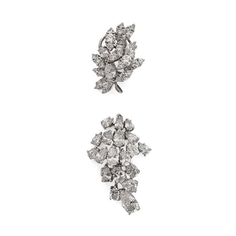 "Incredible Diamond Platinum ""Day to Gala"" Earrings 4"