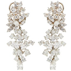 "Incredible Diamond Platinum ""Day to Gala"" Earrings"