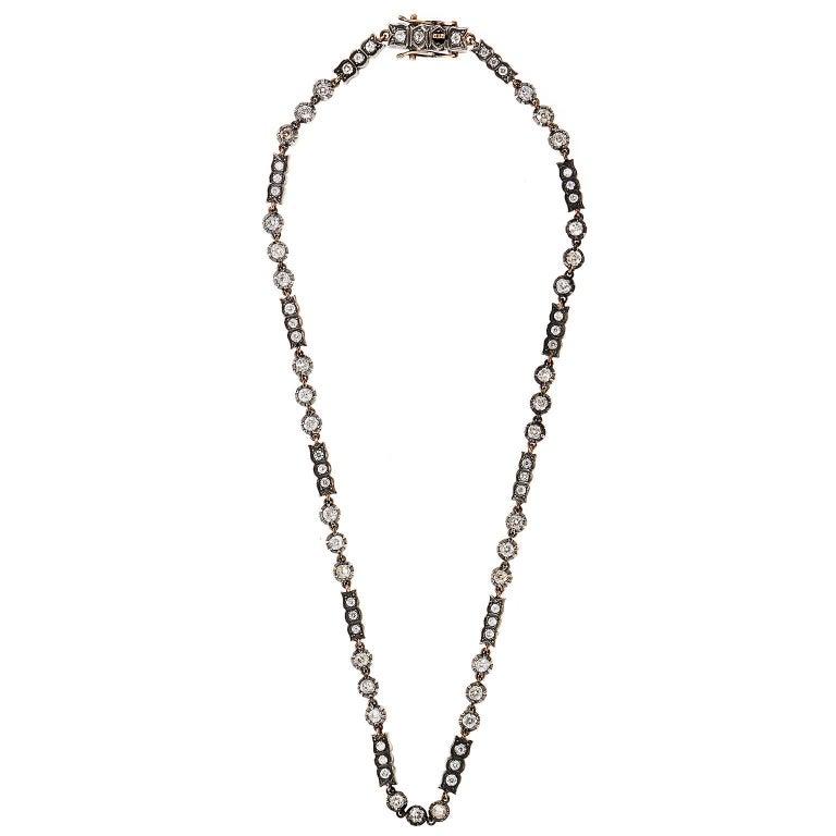 Elegant Victorian Pearl and Diamond Brooch/Pendant 3