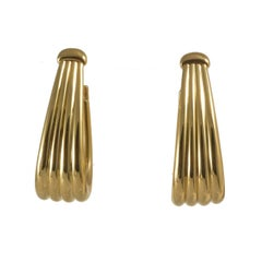 Boucheron Rare Gold Drop Earrings
