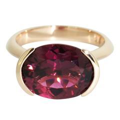 Lizunova Tourmaline Rose Gold Cocktail Ring