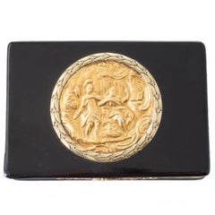 Tortoiseshell Gold Regency Snuff Box