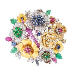 Missiaglia Flower Brooch