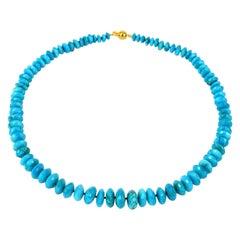 Turquoise Roundel Necklace