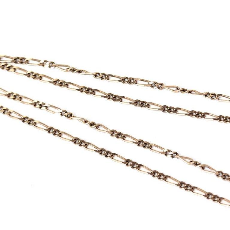 Classic Vintage 1950s Long Chain Necklace