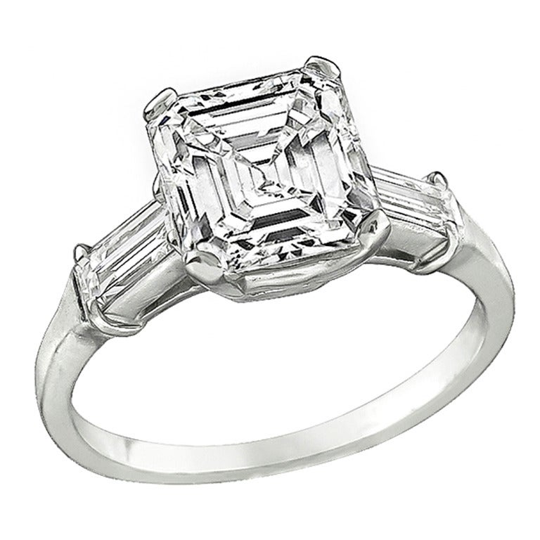 3 carat diamond rings  King of Jewelry