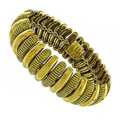 1970s Tiffany & Co. Gold Bracelet