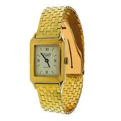 Van Cleef & Arpels Lady's Yellow Gold Quartz Wristwatch