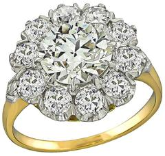 Classic1.99 Carat Diamond Engagement Ring
