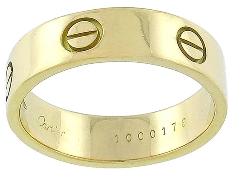 Cartier Love Gold Wedding Band 2