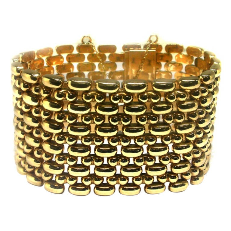 1940s Yellow Gold Bracelet
