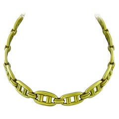 Kieselstein-Cord Gold Link Necklace