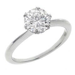 Ritani GIA Certified Diamond Engagement Ring