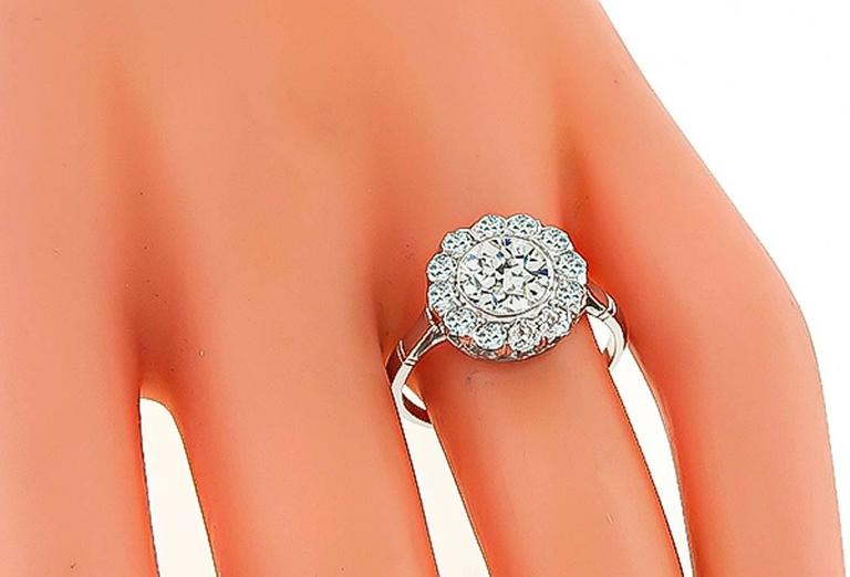 1.17 Carat Diamond Engagement Ring 2