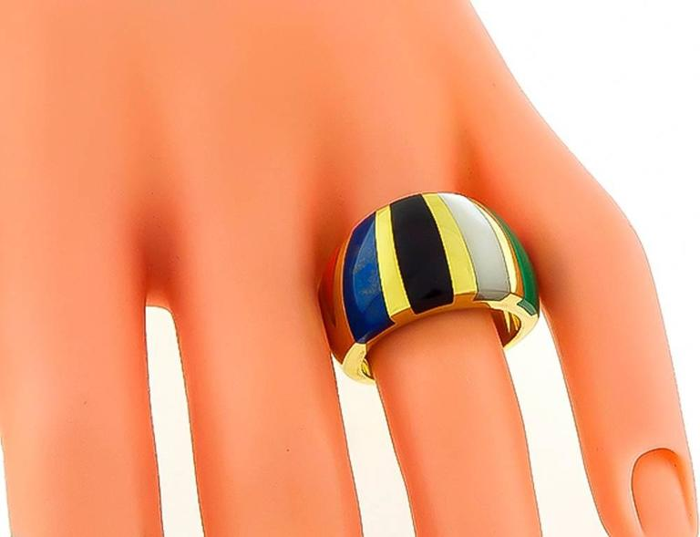 Asch Grossbardt Multi Color Gemstone Ring 2
