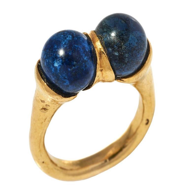 Ilias Lalaounis Sodalite Ring