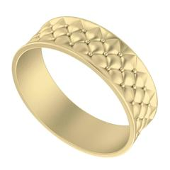 StyleRocks Gold Lattice Bangle Bracelet