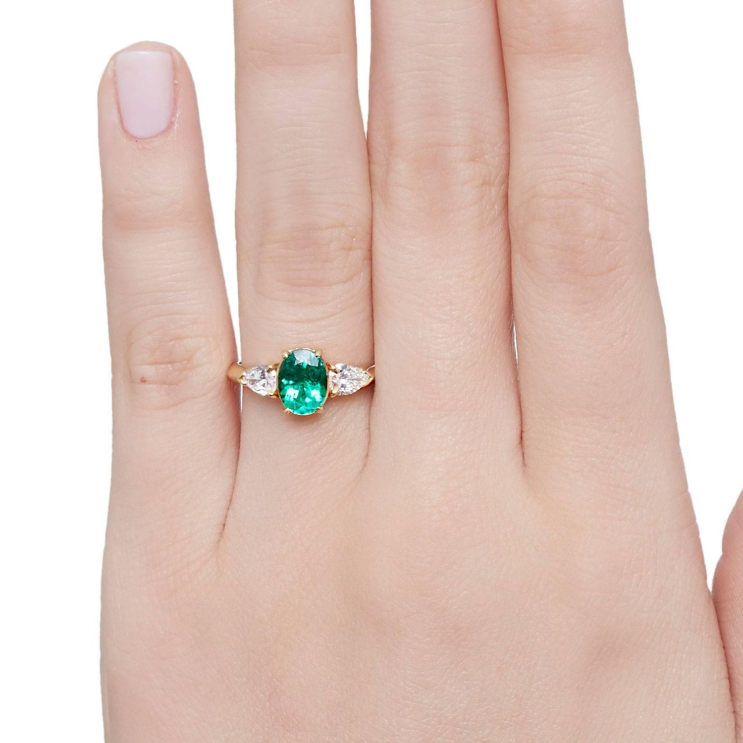 Cushla Whiting 1.1 Carat Certified Muzo Emerald \'Verde\' Ring with ...