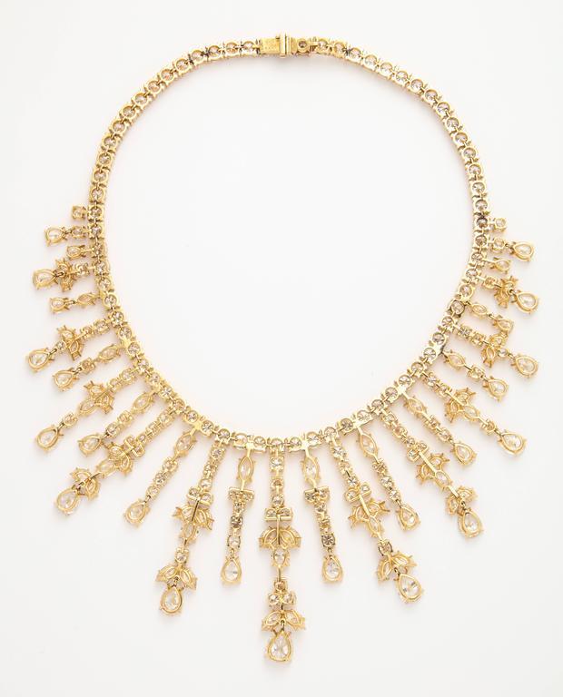 Important Van Cleef & Arpels Diamond Tania Necklace 5