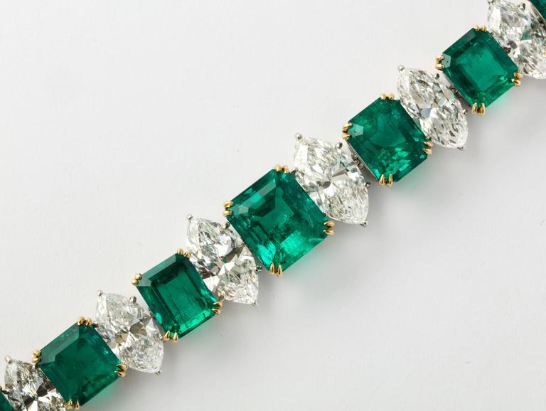 Magnificent Harry Winston Gia Cert Diamond Colombian