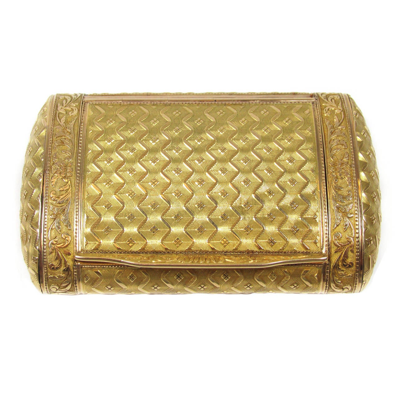 antique french gold snuff box for sale at 1stdibs. Black Bedroom Furniture Sets. Home Design Ideas