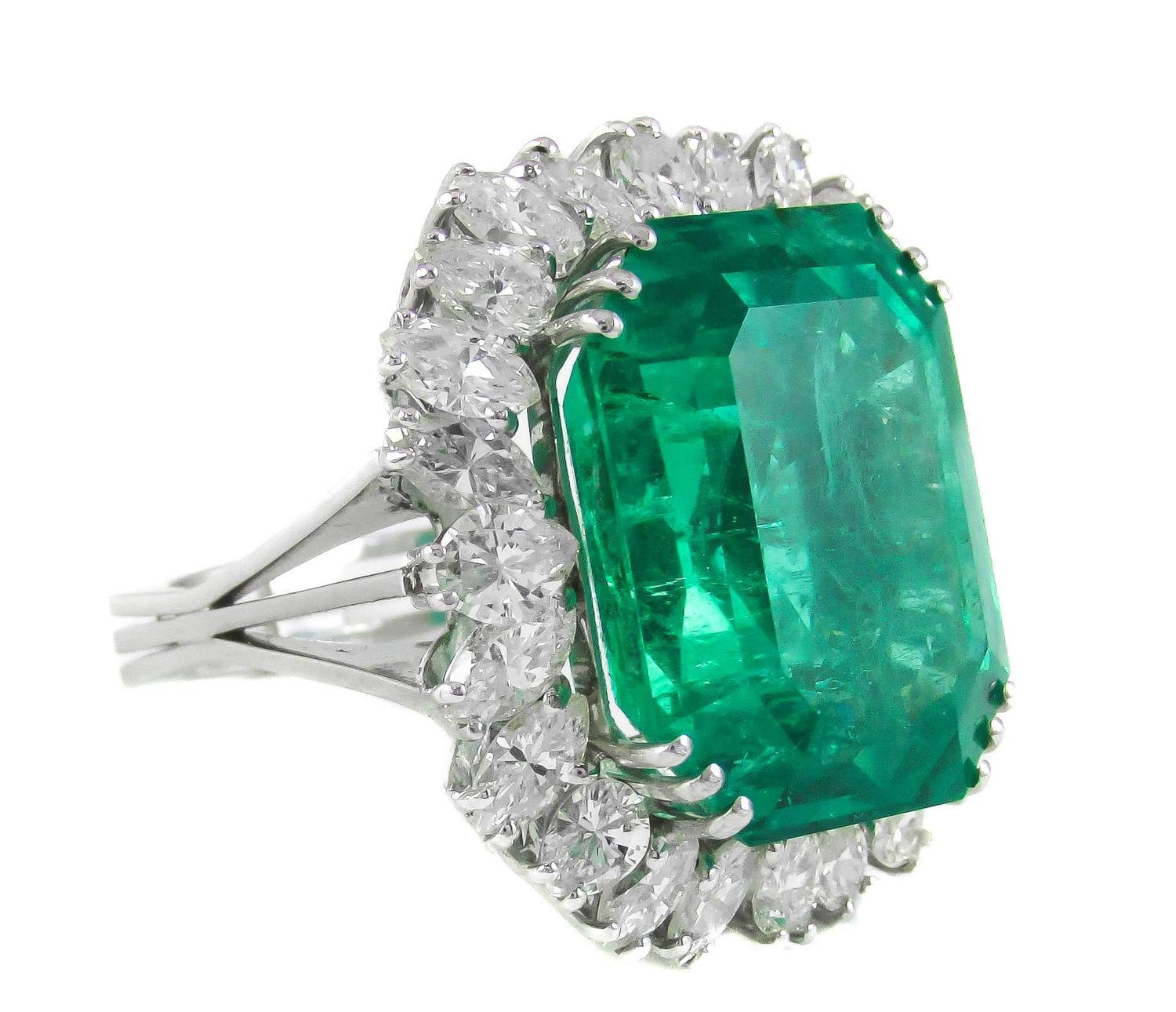 25 carat emerald ring for sale
