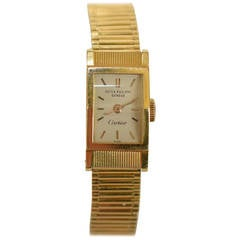 Patek Philippe Lady's Yellow Gold Wristwatch Ref 3250 Retailed By Cartier