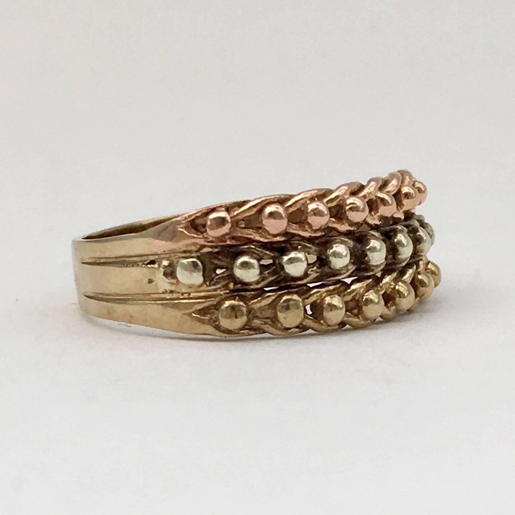 Vintage keeper ring