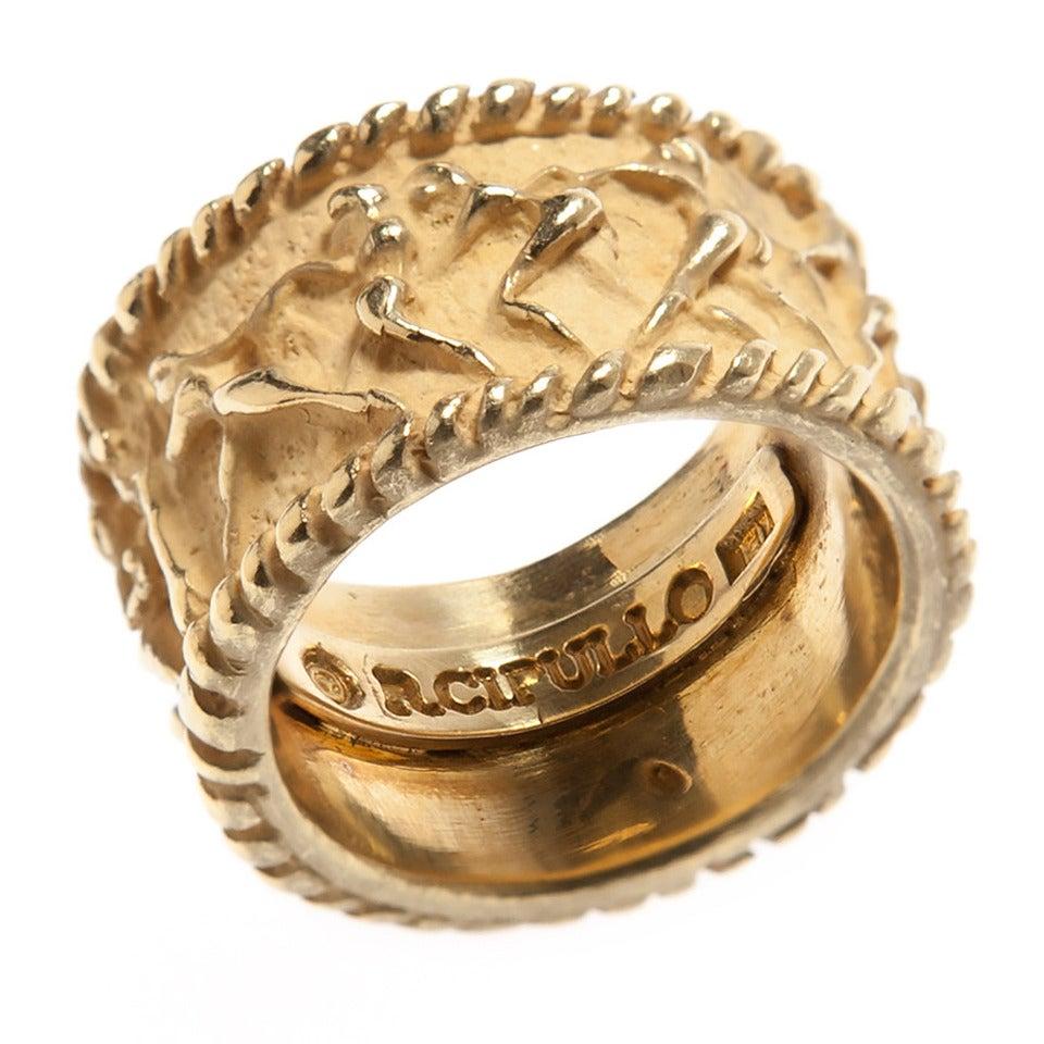 Renato Cipullo Gold Ring