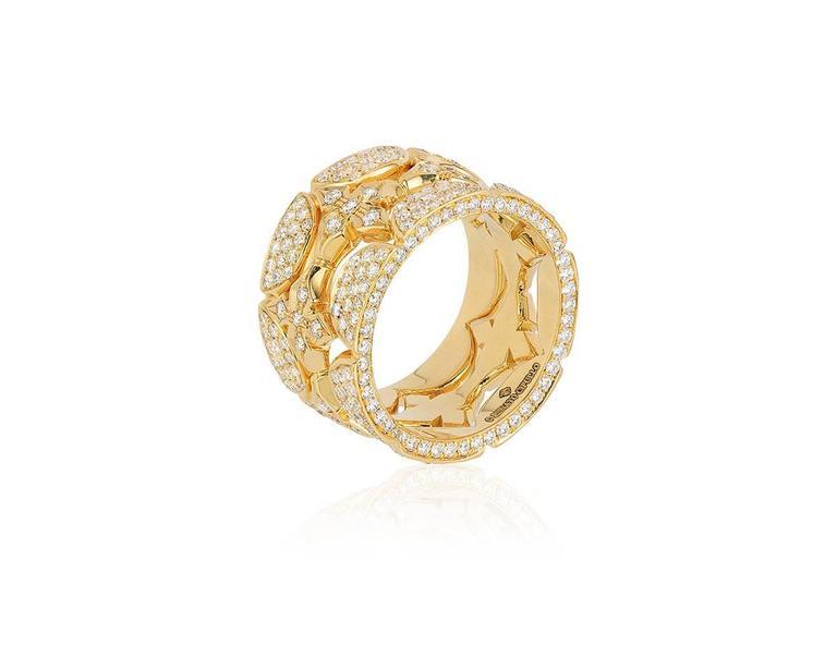 Renato Cipullo Diamond Gold Stacking Rings 2