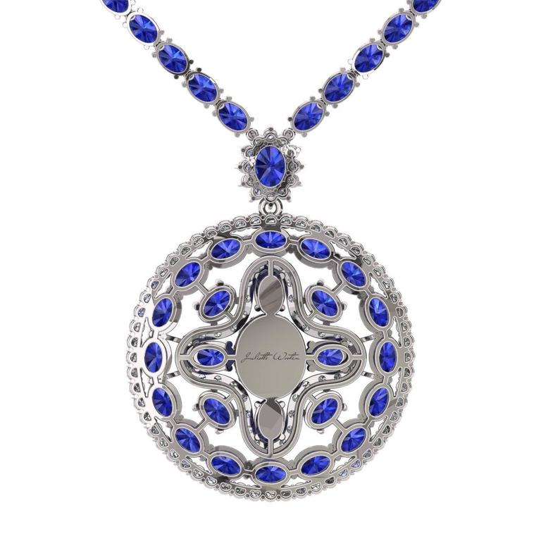 INTRODUCING NEW COLLECTION LE CERCLE PARFAIT  The magnificent and holy blue sapphires. Captivating deep blue color is a color of wisdom and royalty. It is symbolizing power, prophecy and divinity. Discover the natural beauty of this mysterious