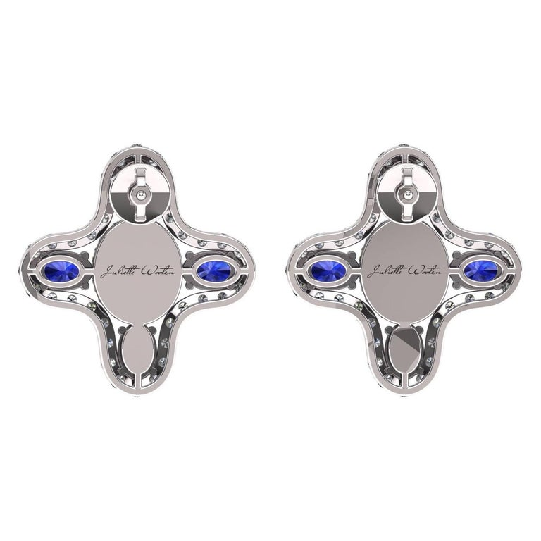INTRODUCING NEW COLLECTION LE CERCLE PARFAIT   The magnificent and holy blue sapphires. Captivating deep blue color is a color of wisdom and royalty. It is symbolizing power, prophecy and divinity.It is symbolizing love, intuition and clarity.