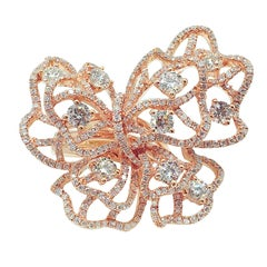 GILIN Butterfly Diamond Ring