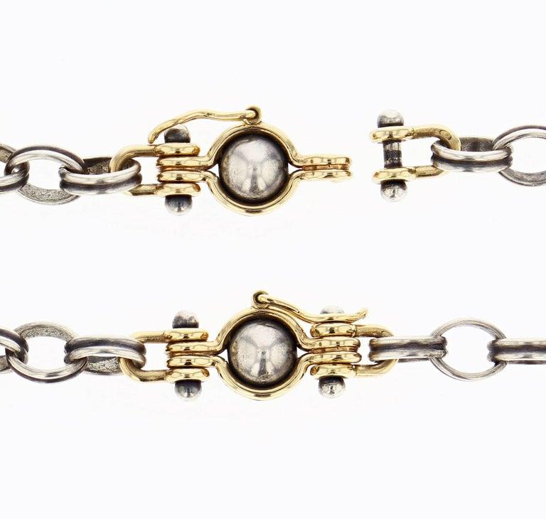 Women's Elie Top Collier 3 Spheres Or et Diamants For Sale