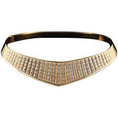 Terry Moore's Diamond Gold Collar