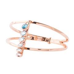 Marie Mas Reversible Vertical Dancing Rigid Bracelet, 18 Karat Rose Gold