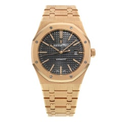 Audemars Piguet Rose Gold Royal Oak Automatic Wristwatch
