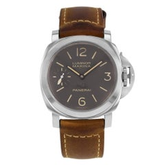 Panerai Stainless Steel Luminor Marina Firenze Edition mechanical Wristwatch