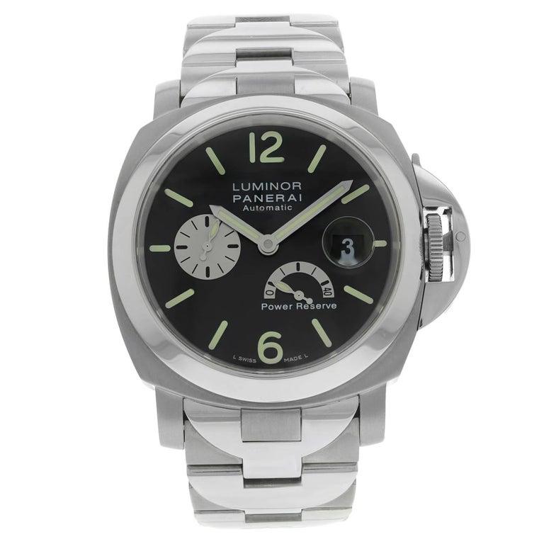 Panerai Titanium Luminor Power Reserve Automatic Wristwatch Ref PAM00171