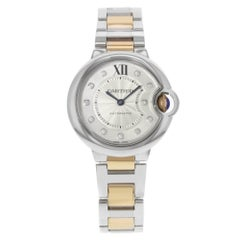 Cartier Ballon Bleu WE902061 Steel and 18 Karat Gold Automatic Women's Watch