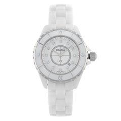 Chanel J12 H1628 Ceramic and Steel Quartz Unisex Watch