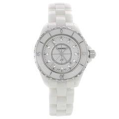 Chanel Ceramic J12 H1628 Quartz Women's Watch