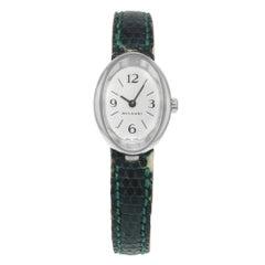 Bvlgari OVW27G 18 Karat White Gold Quartz Ladies Watch