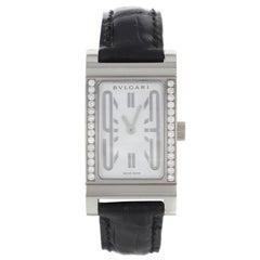Bvlgari Rettangolo RT W39 G Original Diamonds Quartz Women's Watch