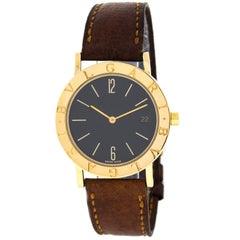 Bvlgari P.36578 18 Karat Yellow Gold Swiss Quartz Midsize Men's Watch